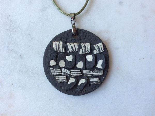 Strata collection pendant