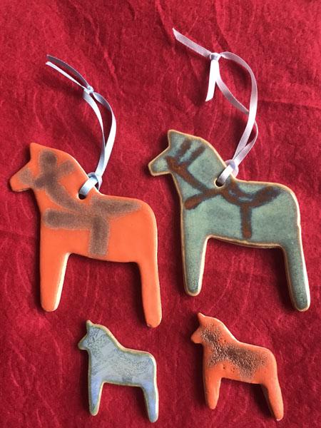 Swedish Horse decorations