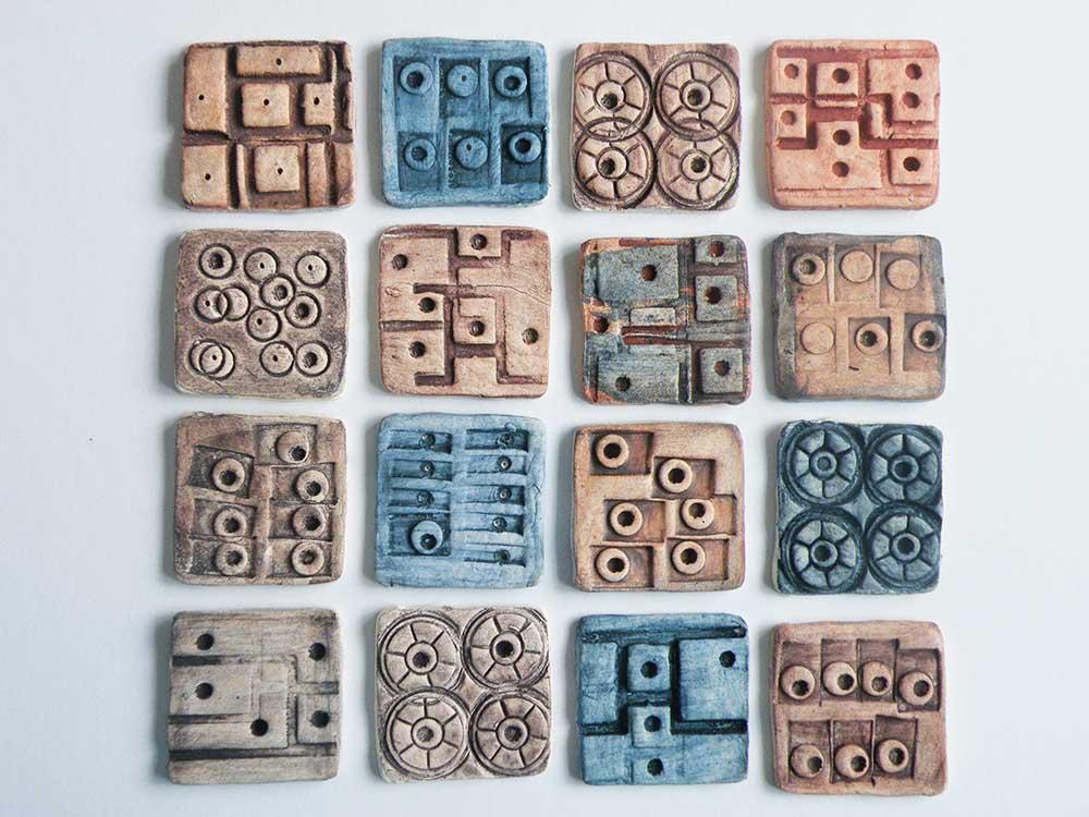 Porcelain texture tiles