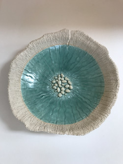 Turquoise sea bowl