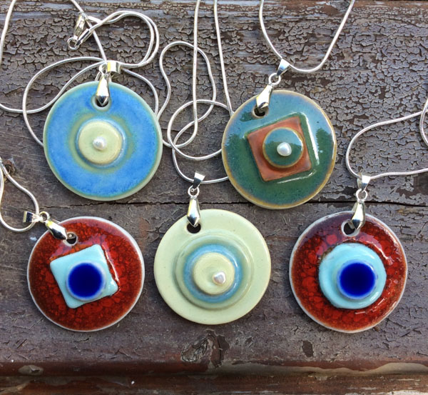 Funky pendant collection