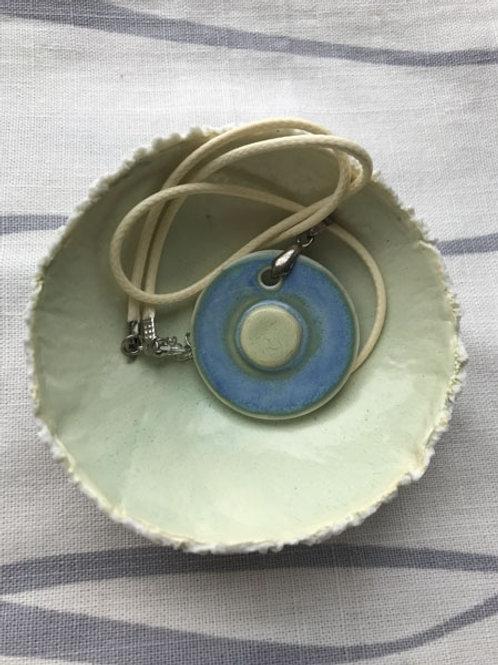 Jewellery bowl & Funky Pendant