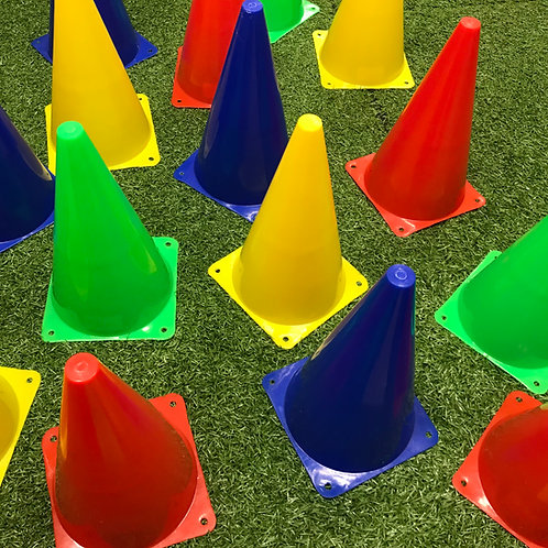 BabyBallers Tall Cones