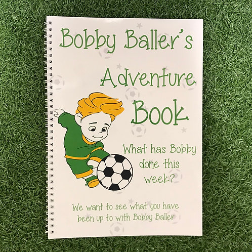 Bobby Ballers Adventure Book