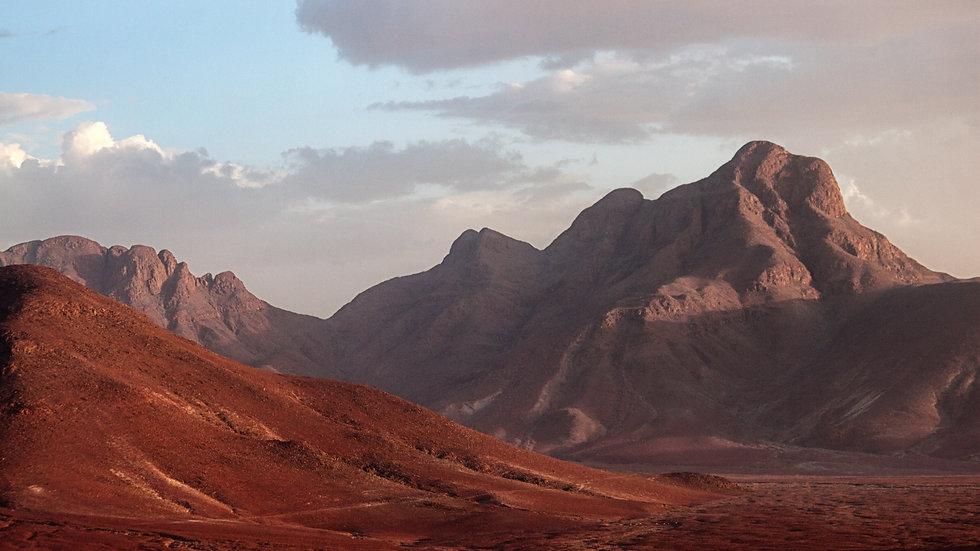 The Mountains Enclosing The Namib Desert