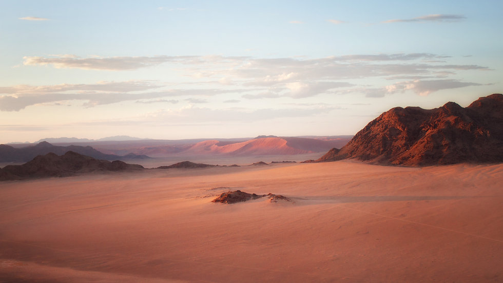 The Namib Desert At Dawn - Namibia