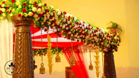 Kerala Wedding Mandap Decor