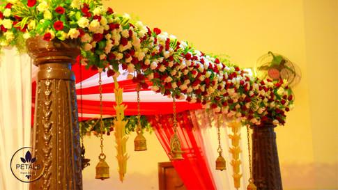 Kerala Wedding Mandap Decor