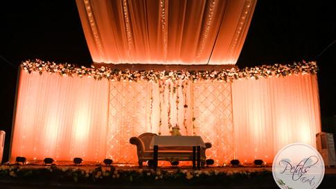 Wedding decoration Temple Tree