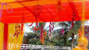 Sangeeth decorations