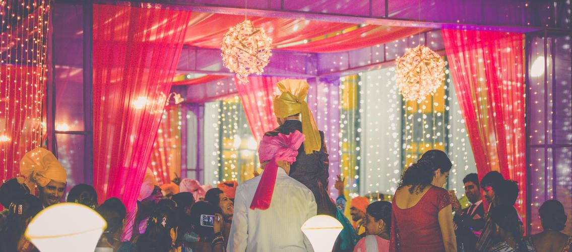 Grand Wedding Entry