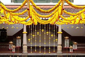 Angana courtyard Decorations