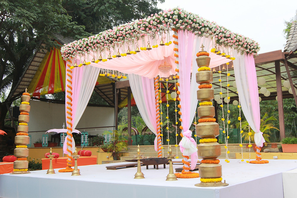 Mandapa decoration