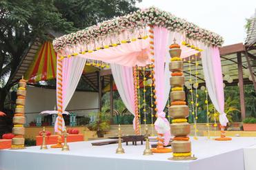 Wedding Mandapa decoration