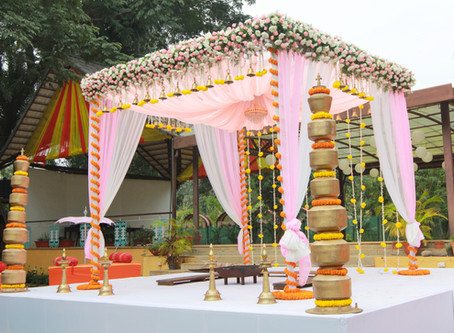 Significance of Mandapa Decoration for a Wedding!