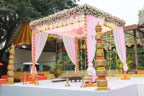 Wedding Mandap Temple Tree