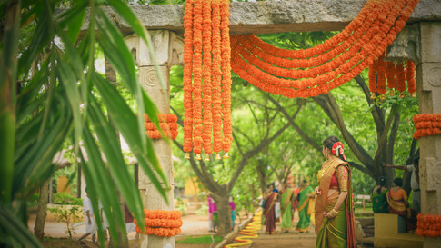 Marigold Decor at Shankaraa Foundation