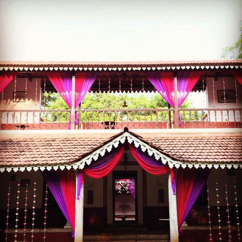 Angana Courtyard Decor