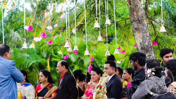 Wedding Entry decor at Heera Farms