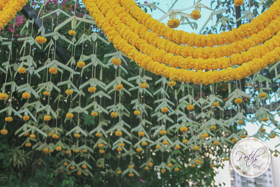 Marigold Decorations for Wedding