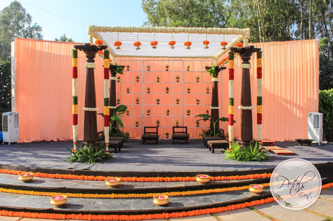 Wedding Mandap Decorations at Temple Tree