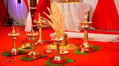 Kerala Wedding Ritual Decor