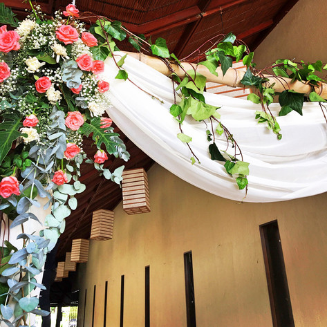 Trendy Wedding Entry Arch