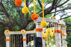 Marigold Decor at Shankara Foundation