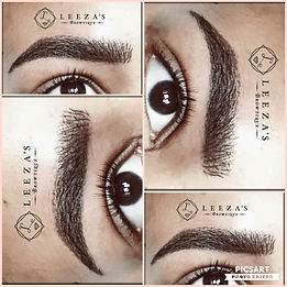 Hair Strokes (Microblading) with Stardust Eyebrows.