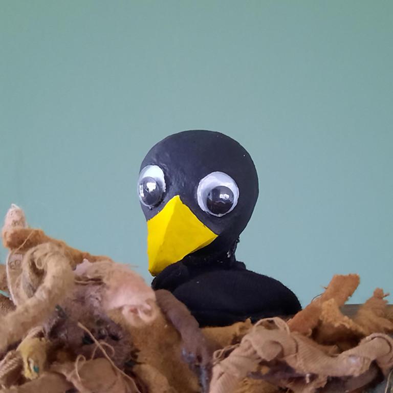 Poppentheater Dubbele Jan - Kleine zwarte vogel