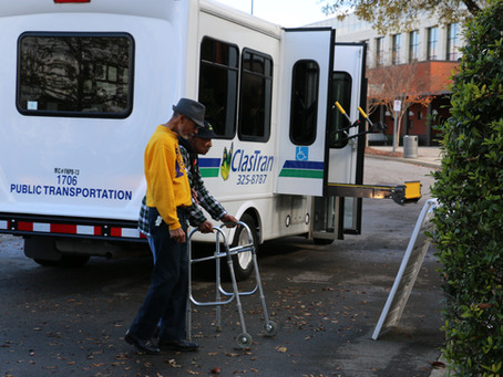 ClasTran Transports Hundreds to Annual Thanksgiving Outreach