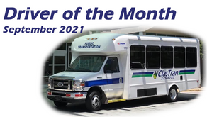 Driver of the Month - September 2021