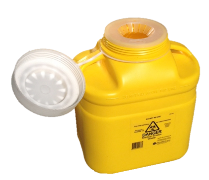 12 Litre Screw Top Sharps Collector