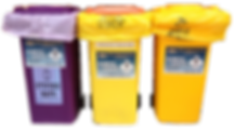 clinical waste bins