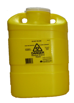 8 Litre Snap Top Sharps Collector