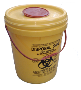 23 Litre Sharps Bucket