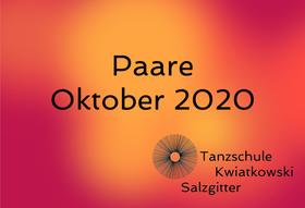 Paare Okt 2020