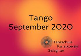 Tango September 2020