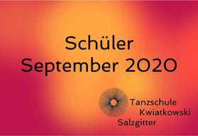 Schüler Sep 2020