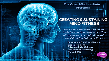 Creating and Sustaining Mind Fitness Image | The Open Mind Institute