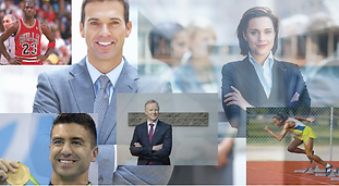Collage of executive leaders | The Open Mind Institute