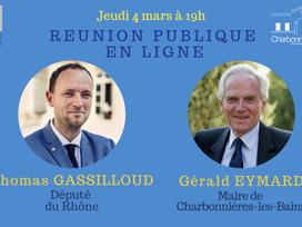 Notre Député à Charbonnières-les-Bains,   NOUVEAU, LES VIDÉOS...