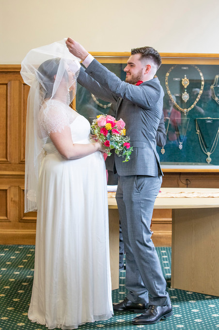 Amy and James' wedding