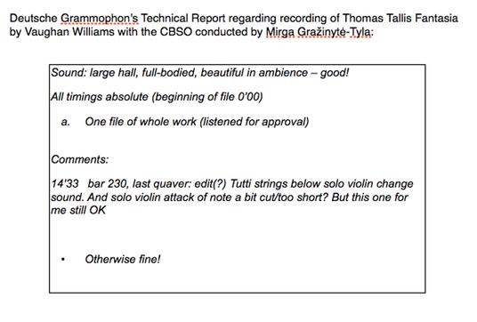 DG technical feedback