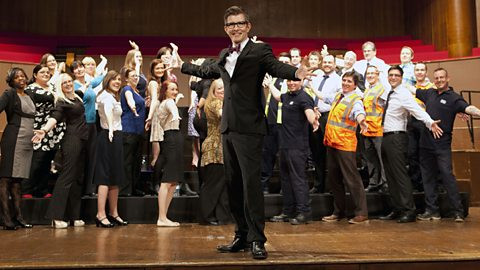 Gareth Malone The Choir: Singing in the Workplace