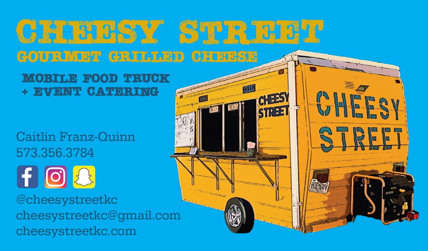 Cheesy Street Business Card
