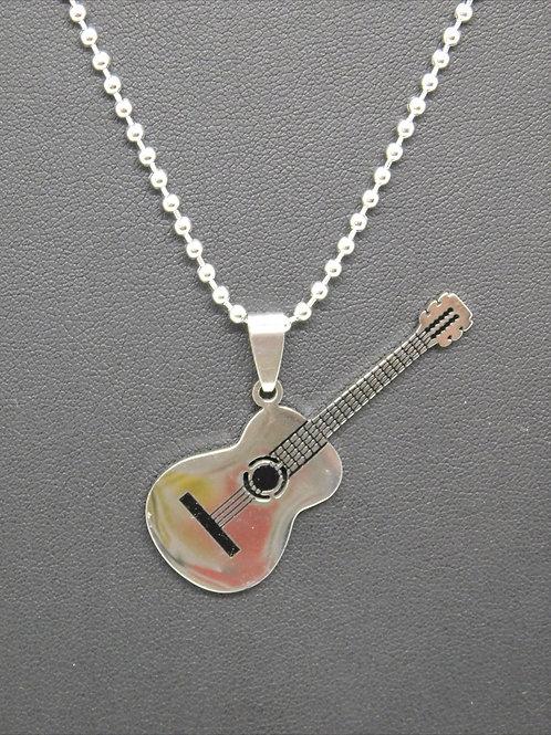 Collier guitare en acier