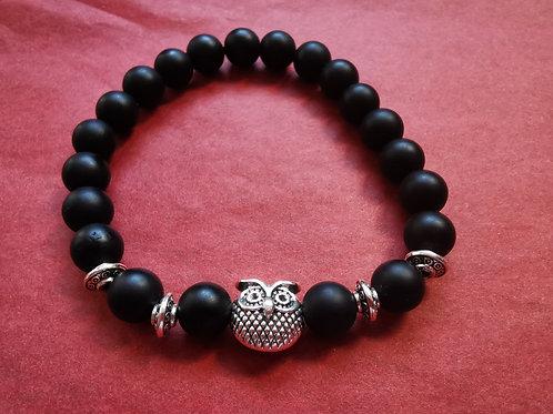 Bracelet chouette en opale