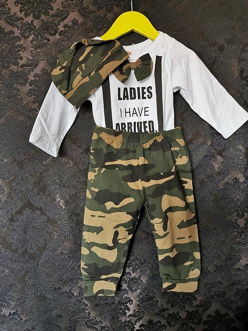 Ensemble 3 pièces armée pour bébé