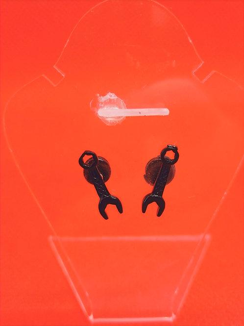 Boucles d'oreilles clés